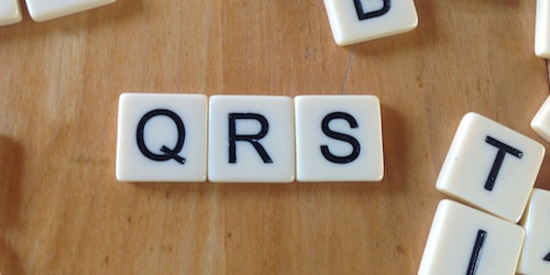 Letter squares for q, r and s