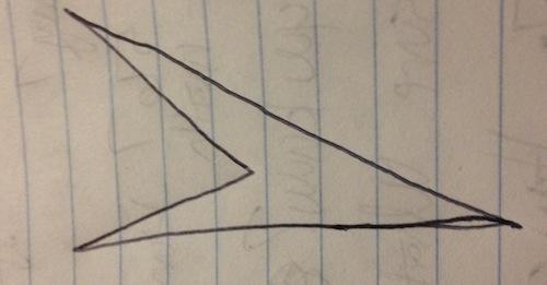 Concave quadrilateral